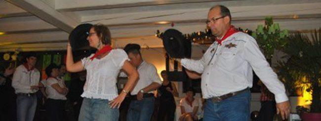 Coyote Line Dance à Sain-Etienne-de-Crossey en 2011
