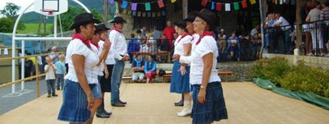 Coyote Line Dance à Arith le 07-08-2011