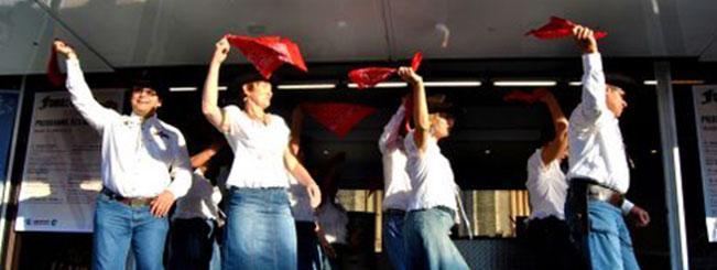 Coyote Line Dance à Voiron le 11-11-2011