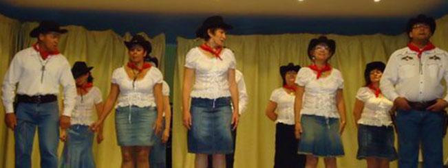 Coyote Line Dance à Voreppe le 19-11-2011
