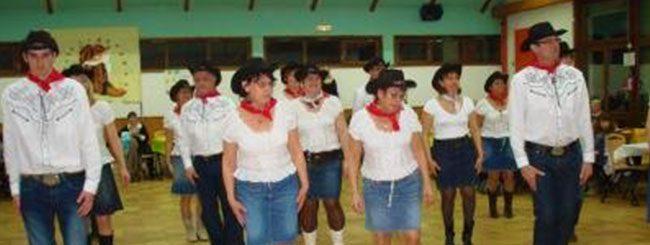 Coyote Line Dance à Coublevie le 04-02-2012