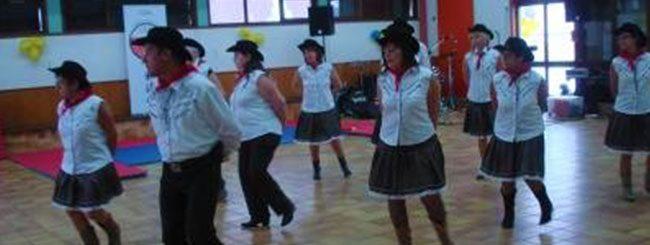 Coyote Line Dance à Coublevie le 08-08-2012