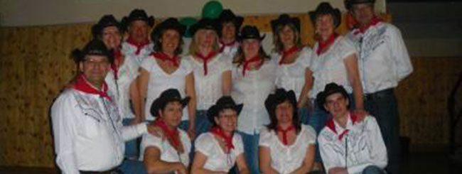 Coyote Line Dance à la Murette le 30-03-2012
