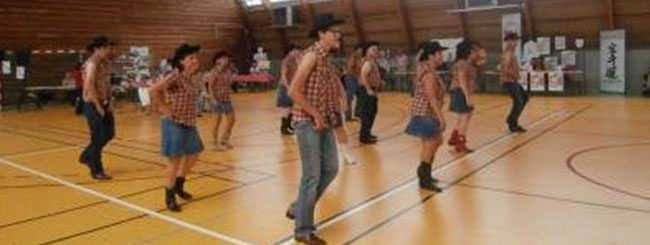 Coyote Line Dance à Coublevie le 14-09-2013