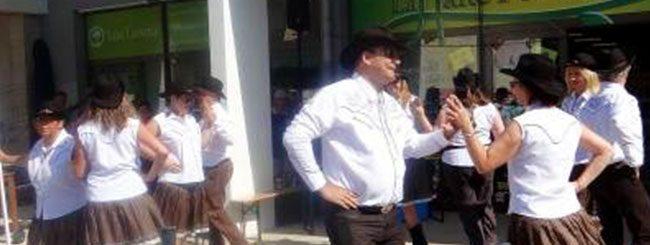 Coyote Line Dance à Voiron le 27-06-2015