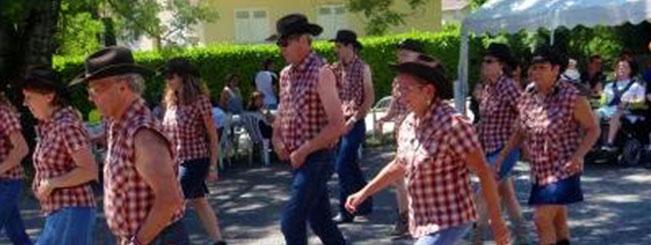 Coyote Line Dance à Renage le 28 juin 2015