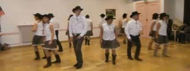 Coyote Line Dance à Voiron le 22-01-2015