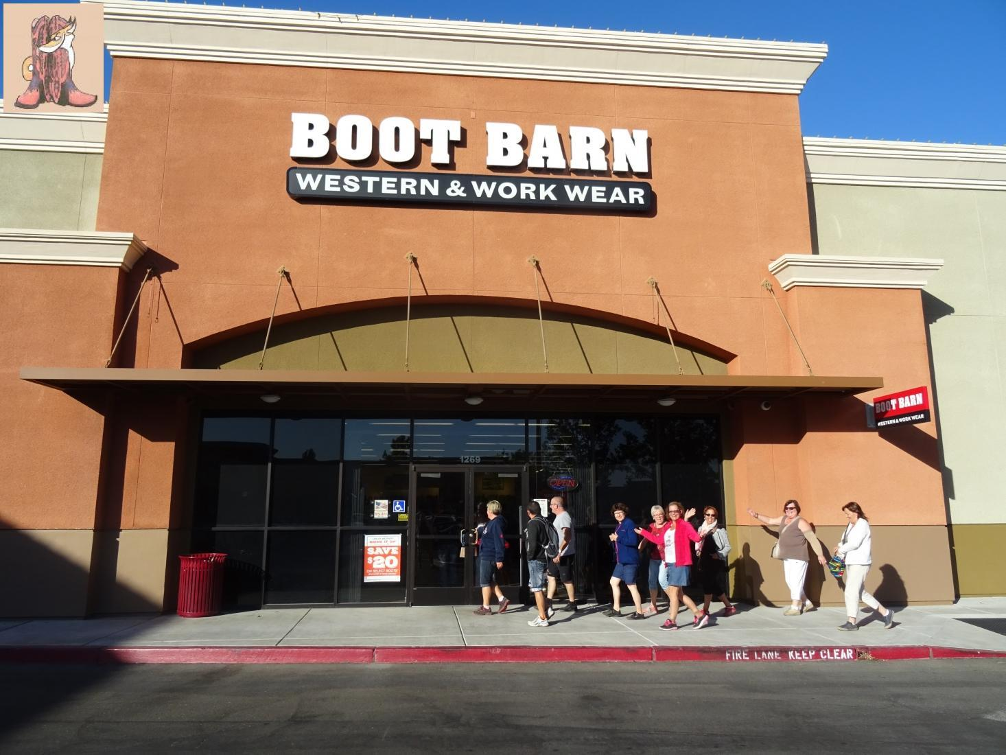 Boot Barn Inc is a privately held company in Turlock, CA and is a Single Location business. Categorized under Western Apparel. Our records show it was established in and incorporated in California. Current estimates show this company has an annual revenue of and employs a staff of approximately
